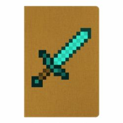 Блокнот А5 Minecraft меч