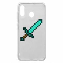 Чохол для Samsung A30 Minecraft меч