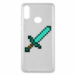 Чохол для Samsung A10s Minecraft меч