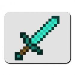 Коврик для мыши Minecraft меч - FatLine