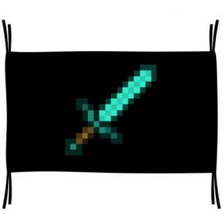 Прапор Minecraft меч