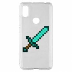 Чохол для Xiaomi Redmi S2 Minecraft меч