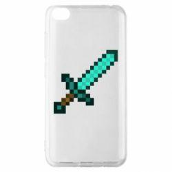 Чохол для Xiaomi Redmi Go Minecraft меч