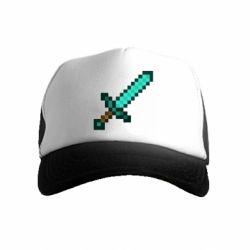 Дитяча кепка-тракер Minecraft меч