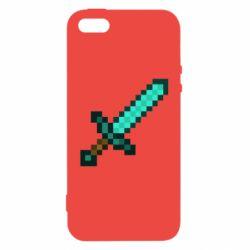 Чохол для iphone 5/5S/SE Minecraft меч