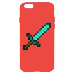 Чохол для iPhone 6/6S Minecraft меч