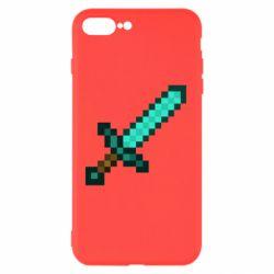 Чохол для iPhone 7 Plus Minecraft меч