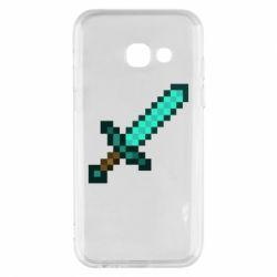 Чохол для Samsung A3 2017 Minecraft меч