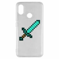 Чохол для Xiaomi Mi8 Minecraft меч