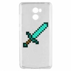 Чохол для Xiaomi Redmi 4 Minecraft меч