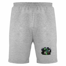 Мужские шорты Minecraft Party - FatLine