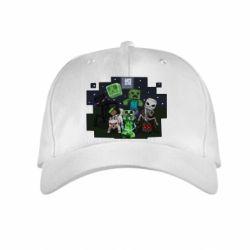 Детская кепка Minecraft Party - FatLine