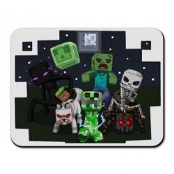 Коврик для мыши Minecraft Party - FatLine