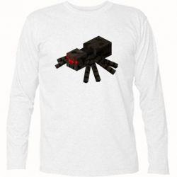 Футболка з довгим рукавом Minecraft spider