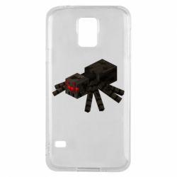 Чохол для Samsung S5 Minecraft spider