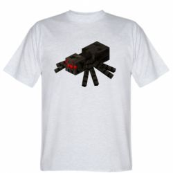 Чоловіча футболка Minecraft spider