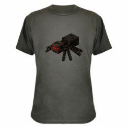 Камуфляжна футболка Minecraft spider