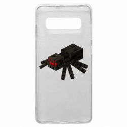Чохол для Samsung S10+ Minecraft spider