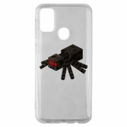 Чохол для Samsung M30s Minecraft spider