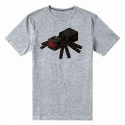 Чоловіча стрейчева футболка Minecraft spider