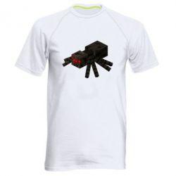 Чоловіча спортивна футболка Minecraft spider