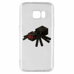 Чохол для Samsung S7 Minecraft spider