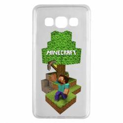 Чохол для Samsung A3 2015 Minecraft Steve