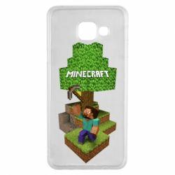 Чохол для Samsung A3 2016 Minecraft Steve