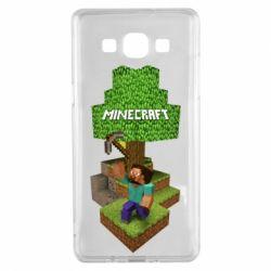 Чохол для Samsung A5 2015 Minecraft Steve
