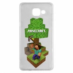Чохол для Samsung A5 2016 Minecraft Steve
