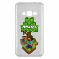Чохол для Samsung J1 2016 Minecraft Steve