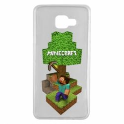Чохол для Samsung A7 2016 Minecraft Steve