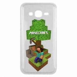 Чохол для Samsung J5 2015 Minecraft Steve