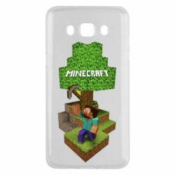 Чохол для Samsung J5 2016 Minecraft Steve