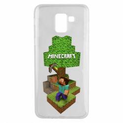 Чохол для Samsung J6 Minecraft Steve