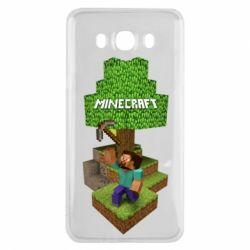 Чохол для Samsung J7 2016 Minecraft Steve