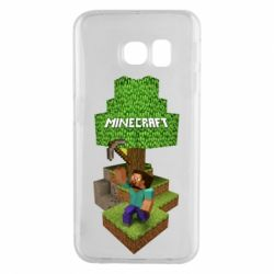 Чохол для Samsung S6 EDGE Minecraft Steve