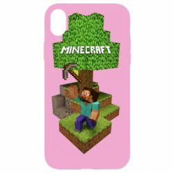Чохол для iPhone XR Minecraft Steve