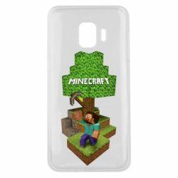 Чохол для Samsung J2 Core Minecraft Steve