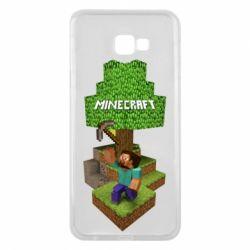 Чохол для Samsung J4 Plus 2018 Minecraft Steve