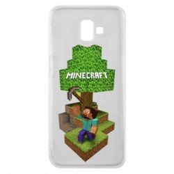 Чохол для Samsung J6 Plus 2018 Minecraft Steve
