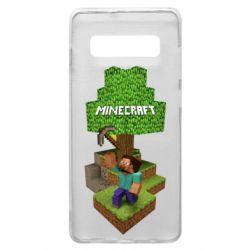 Чохол для Samsung S10+ Minecraft Steve
