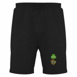 Мужские шорты Minecraft Steve
