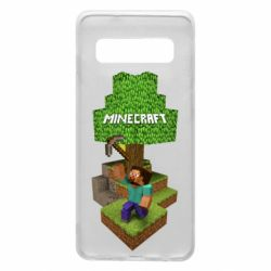 Чохол для Samsung S10 Minecraft Steve