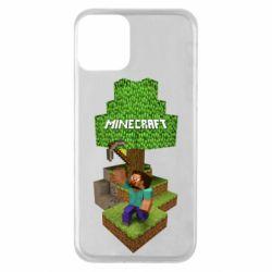 Чохол для iPhone 11 Minecraft Steve