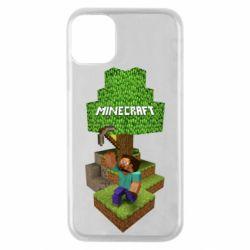 Чохол для iPhone 11 Pro Minecraft Steve