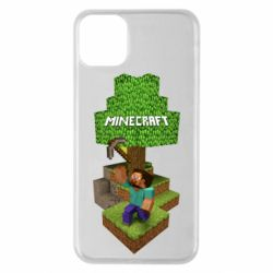 Чохол для iPhone 11 Pro Max Minecraft Steve
