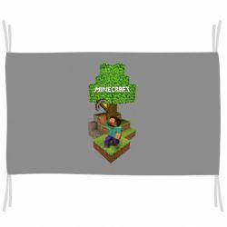 Прапор Minecraft Steve