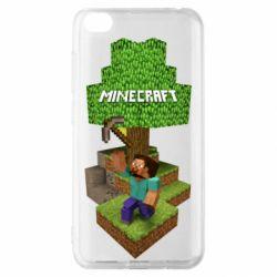 Чохол для Xiaomi Redmi Go Minecraft Steve