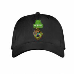 Детская кепка Minecraft Steve - FatLine